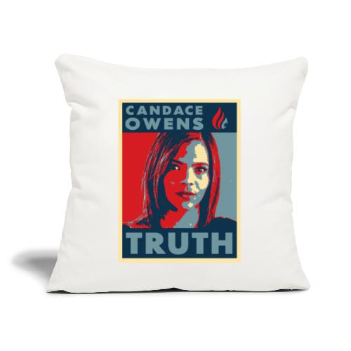 """Candace Owens for President - Throw Pillow Cover 17.5"""" x 17.5"""""""