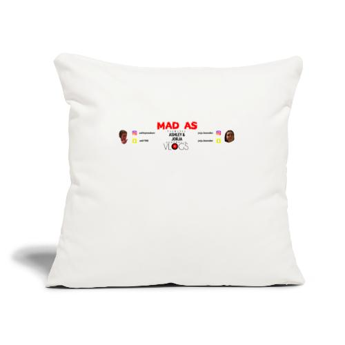 """Banner - Throw Pillow Cover 18"""" x 18"""""""