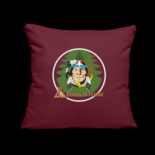 """Archigantegou Logo Color - Throw Pillow Cover 17.5"""" x 17.5"""""""