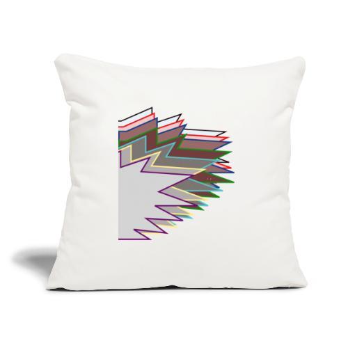 "The Choleric - Throw Pillow Cover 17.5"" x 17.5"""