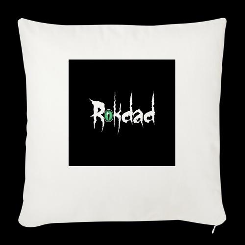 "RDstr - Throw Pillow Cover 18"" x 18"""