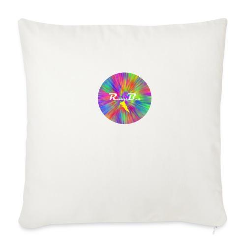 """RocketBull Color - Throw Pillow Cover 18"""" x 18"""""""