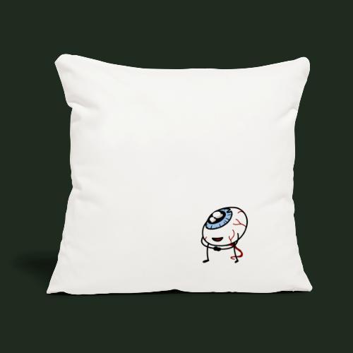 "Eyeball - Throw Pillow Cover 17.5"" x 17.5"""