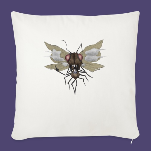 "Toke Fly - Throw Pillow Cover 18"" x 18"""