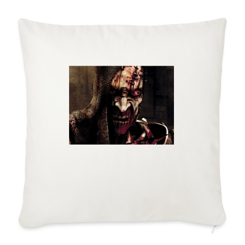 "Zomby stranger - Throw Pillow Cover 17.5"" x 17.5"""