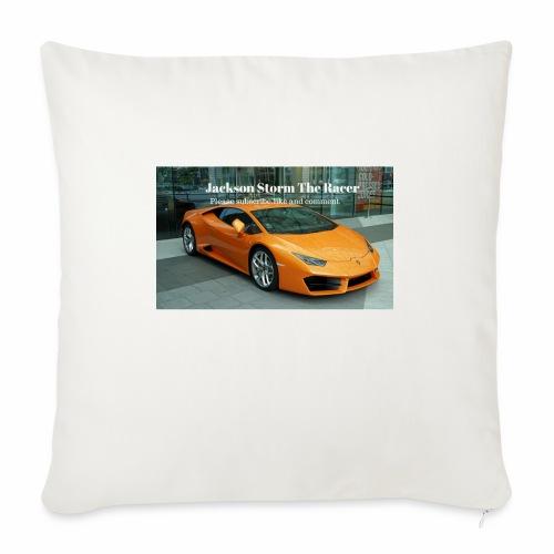 "The jackson merch - Throw Pillow Cover 18"" x 18"""