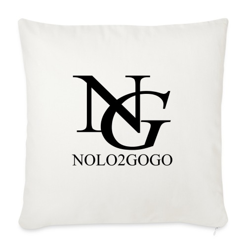 "Nolo Parody Merch #3 - Throw Pillow Cover 18"" x 18"""