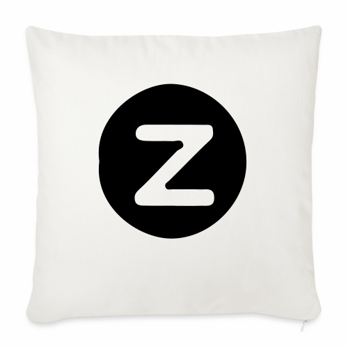 """z logo - Throw Pillow Cover 18"""" x 18"""""""