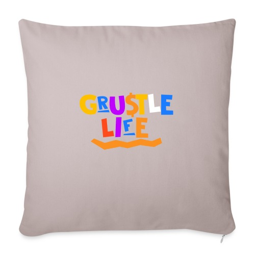 """GRUSTLE LIFE MY BROTHER AND ME - Throw Pillow Cover 18"""" x 18"""""""