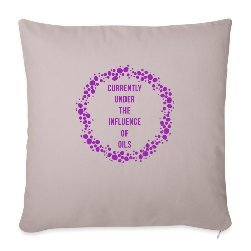 """under the influence - Throw Pillow Cover 18"""" x 18"""""""