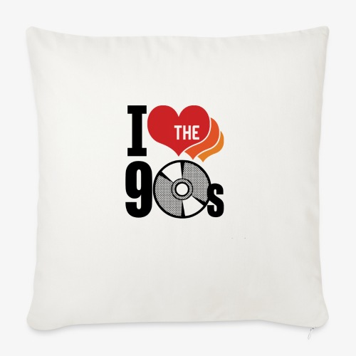 """I love the 90s - Throw Pillow Cover 17.5"""" x 17.5"""""""