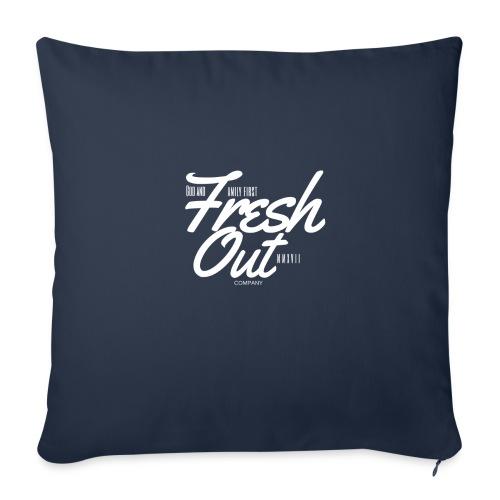 "Fresh Out Beats Logo 24 - Throw Pillow Cover 18"" x 18"""