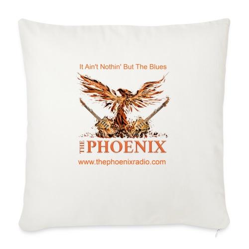 """The Phoenix Radio - Throw Pillow Cover 18"""" x 18"""""""