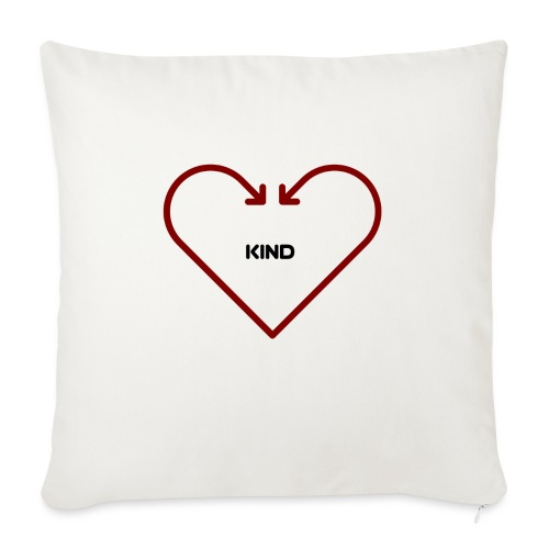 """Love is Kind - Throw Pillow Cover 17.5"""" x 17.5"""""""