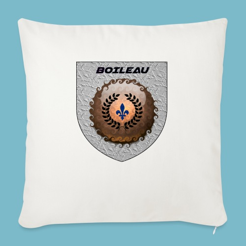 "BOILEAU 1 - Throw Pillow Cover 17.5"" x 17.5"""