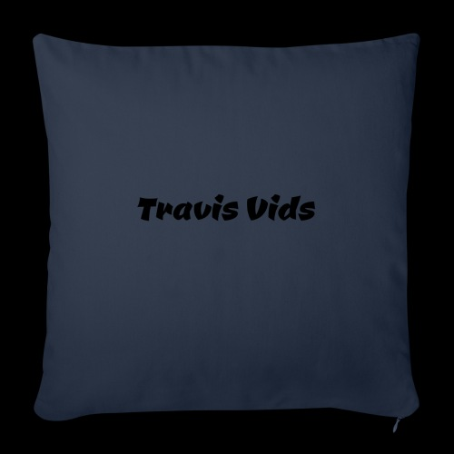 "White shirt - Throw Pillow Cover 18"" x 18"""