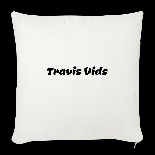 "White shirt - Throw Pillow Cover 18"" x 18"""