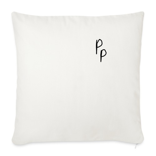 "My signature - Throw Pillow Cover 18"" x 18"""