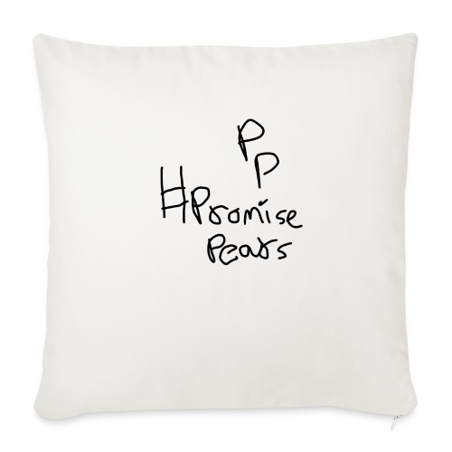"Random design - Throw Pillow Cover 18"" x 18"""