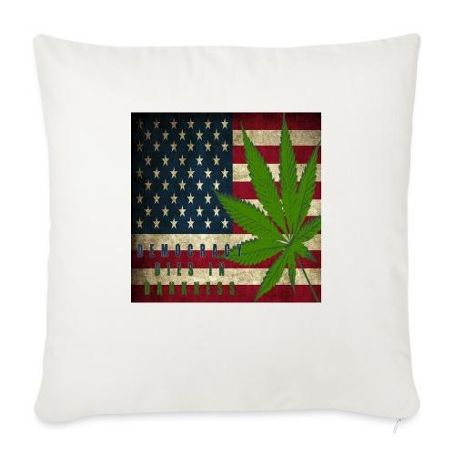 "Political humor - Throw Pillow Cover 17.5"" x 17.5"""