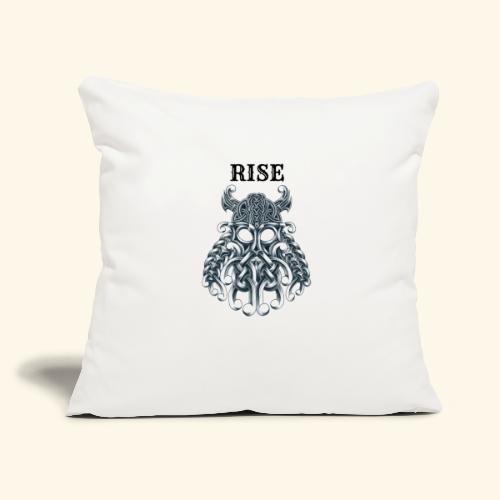 "RISE CELTIC WARRIOR - Throw Pillow Cover 17.5"" x 17.5"""