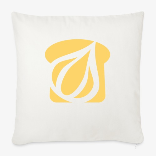 "Garlic Toast - Throw Pillow Cover 18"" x 18"""