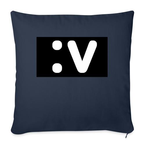 "LBV side face Merch - Throw Pillow Cover 18"" x 18"""
