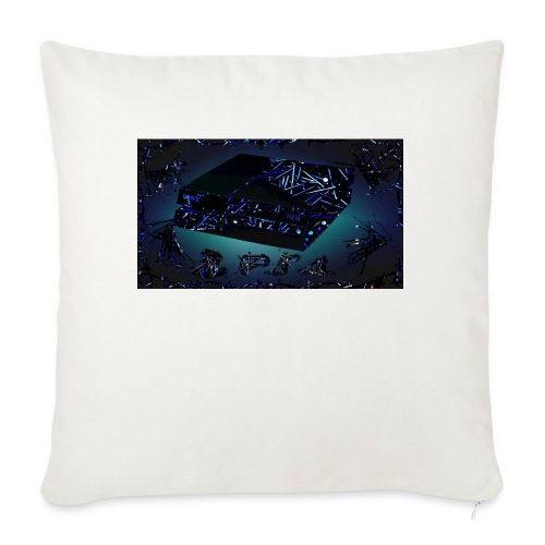 """ps4 back grownd - Throw Pillow Cover 18"""" x 18"""""""