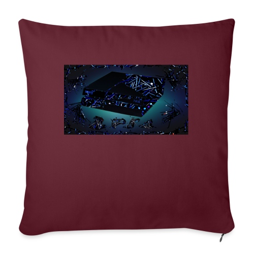 """ps4 back grownd - Throw Pillow Cover 17.5"""" x 17.5"""""""