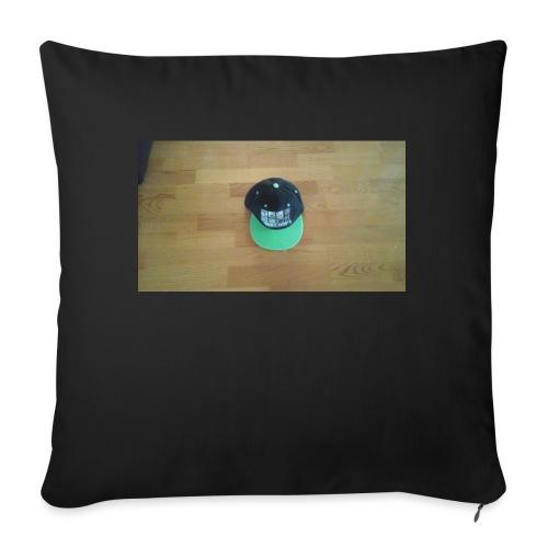 "Hat boy - Throw Pillow Cover 17.5"" x 17.5"""