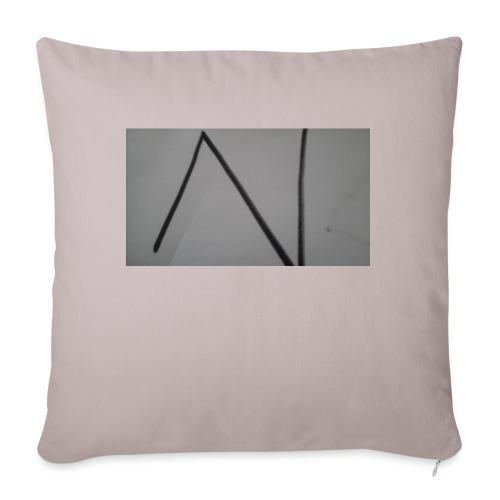 "The n team - Throw Pillow Cover 17.5"" x 17.5"""