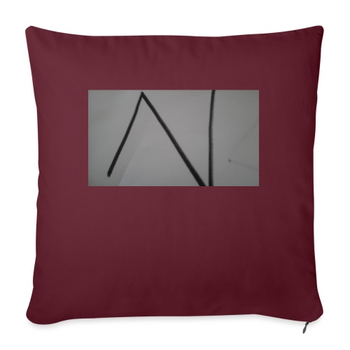 "The n team - Throw Pillow Cover 17.5"" x 17.5"""