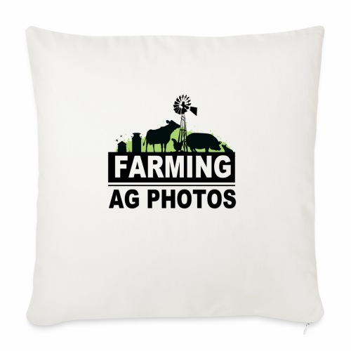 "Farming Ag Photos - Throw Pillow Cover 18"" x 18"""