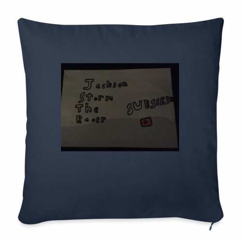 "stormers merch - Throw Pillow Cover 18"" x 18"""