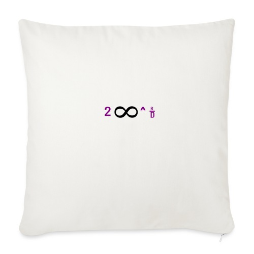 """To Infinity And Beyond - Throw Pillow Cover 17.5"""" x 17.5"""""""