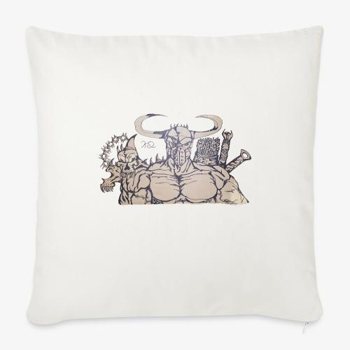 "bdealers69 art - Throw Pillow Cover 18"" x 18"""