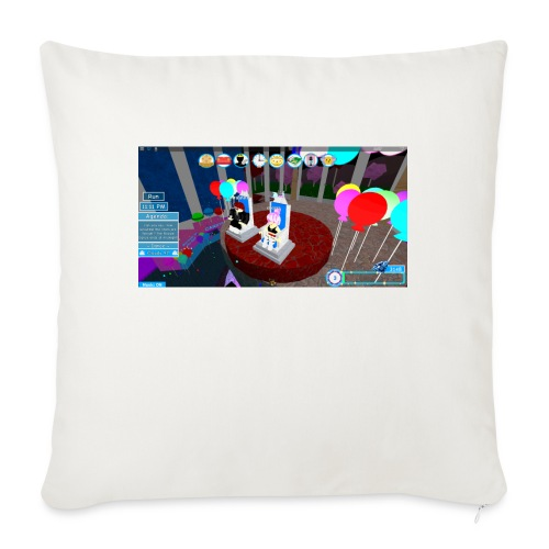 """prom queen - Throw Pillow Cover 17.5"""" x 17.5"""""""