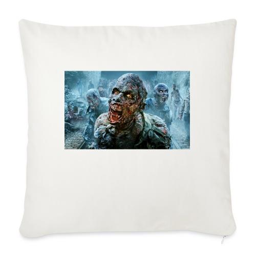 """Zombie life - Throw Pillow Cover 17.5"""" x 17.5"""""""