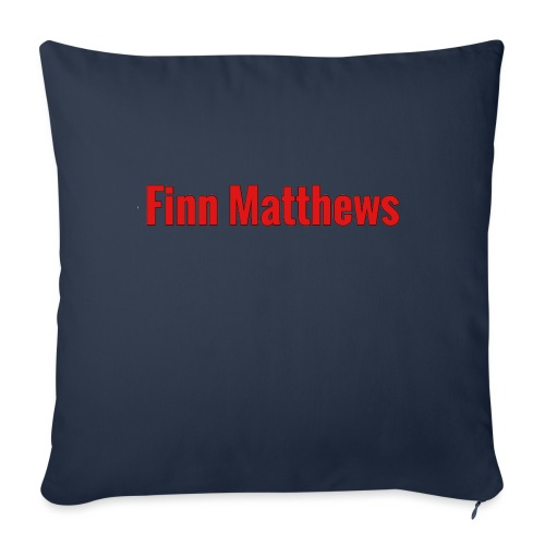 "FM Logo - Throw Pillow Cover 18"" x 18"""