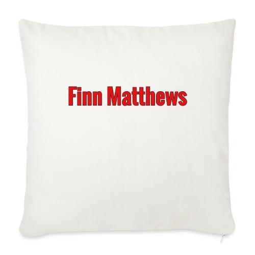 "FM Logo - Throw Pillow Cover 17.5"" x 17.5"""