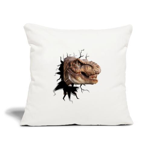 "DINO - Throw Pillow Cover 17.5"" x 17.5"""