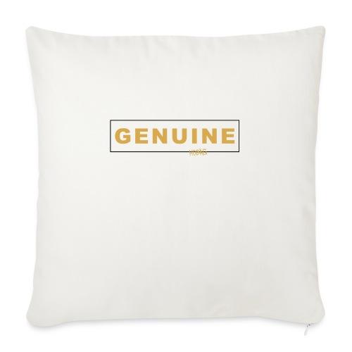 """Genuine - Hobag - Throw Pillow Cover 18"""" x 18"""""""