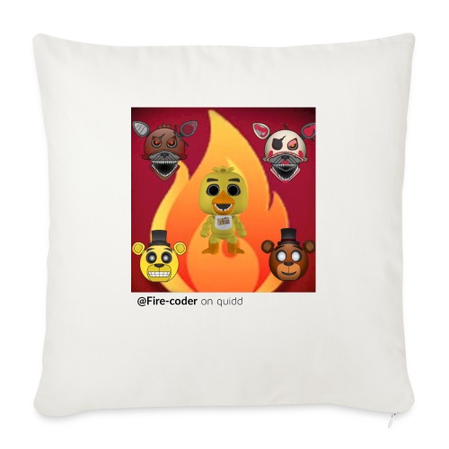 """Firecoder Plays - Throw Pillow Cover 18"""" x 18"""""""