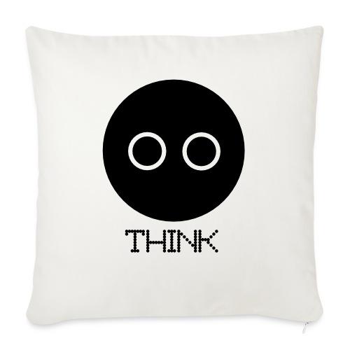 "Design - Throw Pillow Cover 17.5"" x 17.5"""