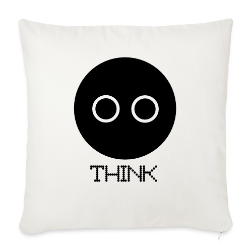"Design - Throw Pillow Cover 18"" x 18"""
