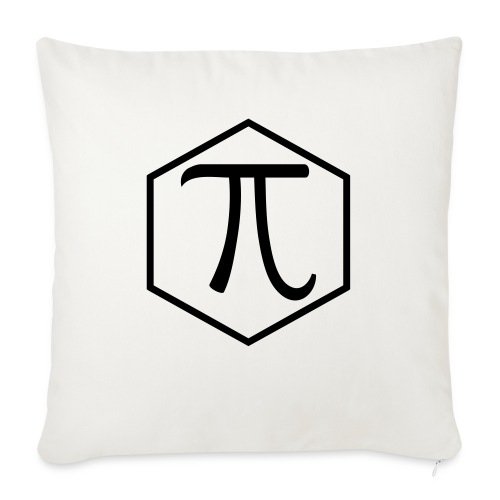 "Pi - Throw Pillow Cover 18"" x 18"""