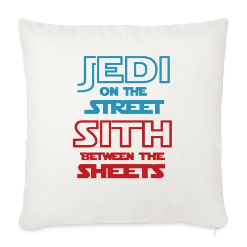"""Jedi Sith Awesome Shirt - Throw Pillow Cover 18"""" x 18"""""""