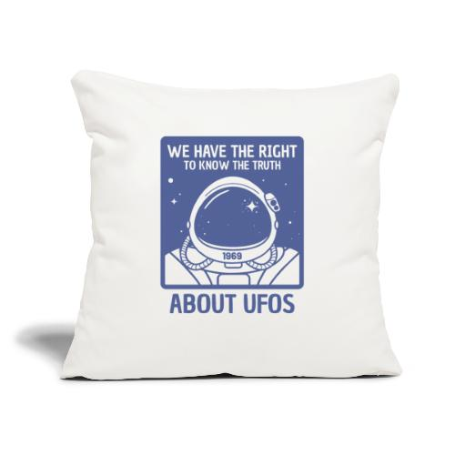 "astronaut - Throw Pillow Cover 17.5"" x 17.5"""