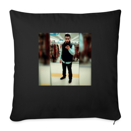 "Ahmad Roza - Throw Pillow Cover 18"" x 18"""