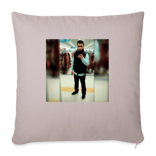 "Ahmad Roza - Throw Pillow Cover 18"" x 18"""